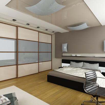 Schlafzimmer asia look